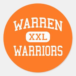 Warren - Warriors - Senior - Warren Illinois Sticker