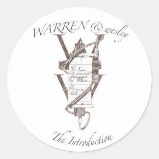 WARREN & wesley STICKERS