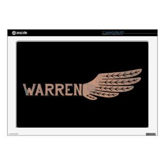 "Warren Wing Democrat 17"" Laptop Skins"