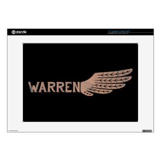 Warren Wing Democrat Laptop Decals