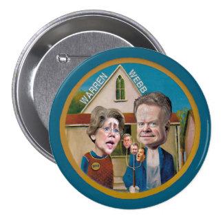 Warren y Webb para 2016 Pin Redondo De 3 Pulgadas
