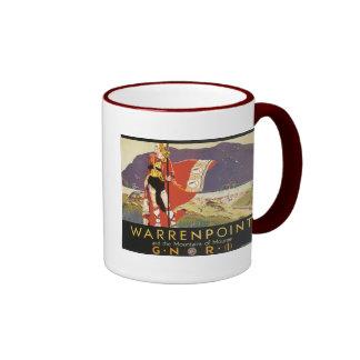 Warrenpoint y las montañas de Mourne Taza A Dos Colores