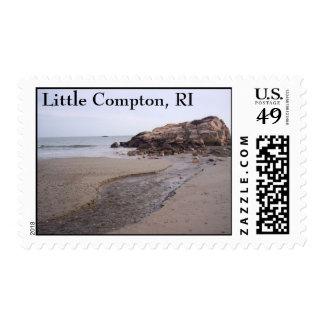 Warren's Point Beach, Little Compton, RI. Postage