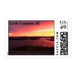 Warren's Point Beach, Little Compton, RI Postage Stamps