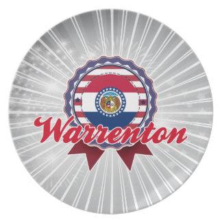 Warrenton, MO Plates