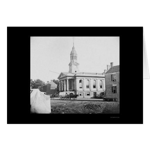 Warrenton, tribunal 1862 del VA Tarjeton