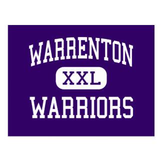 Warrenton - Warriors - High - Astoria Oregon Post Card