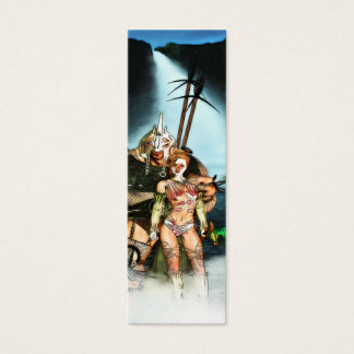 Warriers Bookmark Mini Business Card
