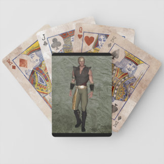 Warrior 001 bicycle playing cards
