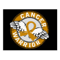 Warrior 14C Appendix Cancer Postcard
