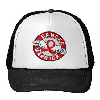 Warrior 14C Blood Cancer Mesh Hats