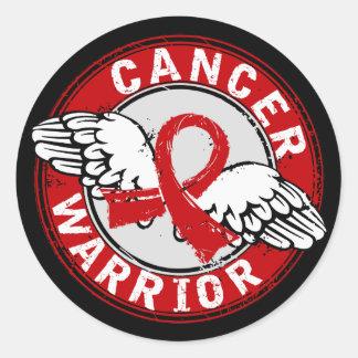 Warrior 14C Blood Cancer Sticker