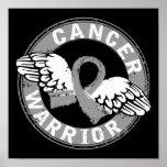 Warrior 14C Brain Cancer Print