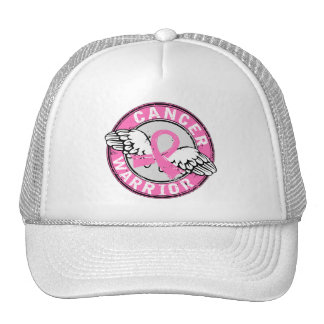 Warrior 14C Breast Cancer Mesh Hats