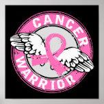 Warrior 14C Breast Cancer Print