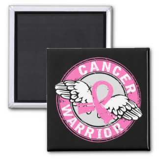 Warrior 14C Breast Cancer Refrigerator Magnets