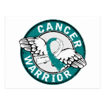 Warrior 14C Cervical Cancer Postcard