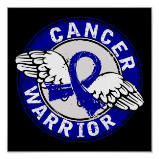 Warrior 14C Colon Cancer Print