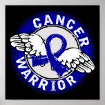 Warrior 14C Colon Cancer Print