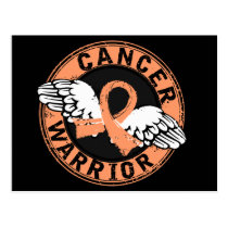 Warrior 14C Endometrial Cancer Postcard