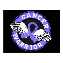 Warrior 14C Esophageal Cancer Postcard