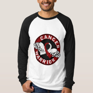 Warrior 14C Head and Neck Cancer T-Shirt