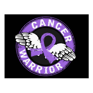 Warrior 14C Hodgkin's Lymphoma Postcard