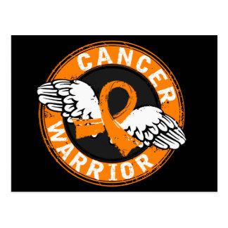 Warrior 14C Kidney Cancer Postcard