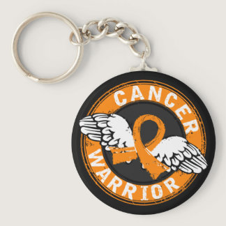 Warrior 14C Leukemia Keychain