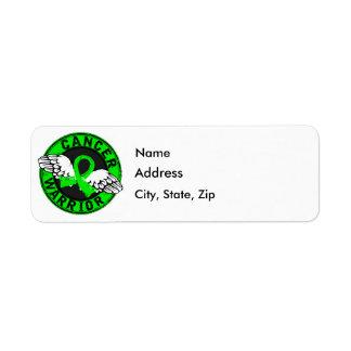 Warrior 14C Lymphoma Custom Return Address Labels