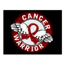 Warrior 14C Multiple Myeloma Postcard