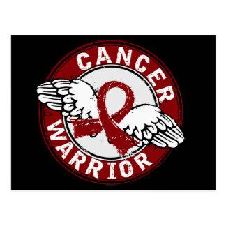Warrior 14C Multiple Myeloma Postcard