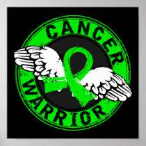 Warrior 14C Non-Hodgkin's Lymphoma Poster