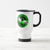 Warrior 14C Non-Hodgkin's Lymphoma Travel Mug