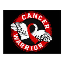 Warrior 14C Oral Cancer Postcard