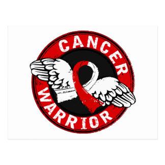 Warrior 14C Oral Cancer Postcard