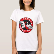 Warrior 14C Oral Cancer T-Shirt