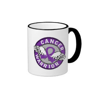 Warrior 14C Pancreatic Cancer Coffee Mugs