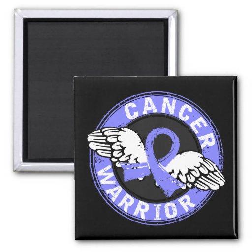 Warrior 14C Prostate Cancer 2 Inch Square Magnet