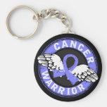 Warrior 14C Prostate Cancer Basic Round Button Keychain