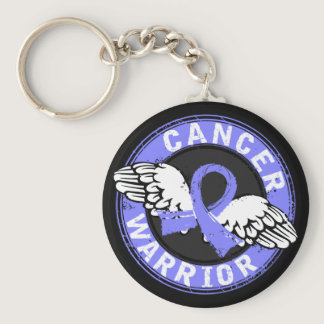 Warrior 14C Prostate Cancer Keychain