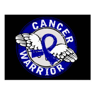 Warrior 14C Rectal Cancer Postcard