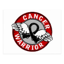 Warrior 14C Skin Cancer Postcard