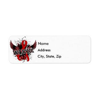 Warrior 16 AIDS Label