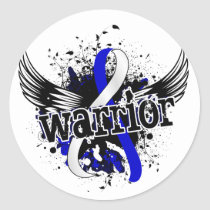 Warrior 16 ALS Classic Round Sticker