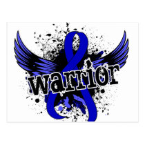Warrior 16 Anal Cancer Postcard