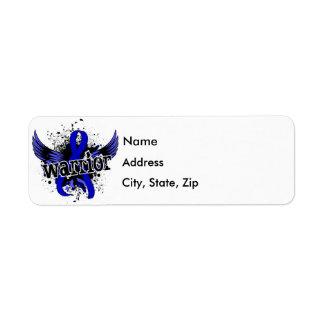Warrior 16 Ankylosing Spondylitis Return Address Label