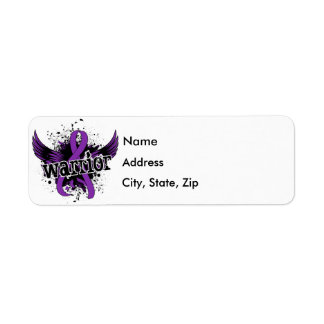 Warrior 16 Anorexia Label