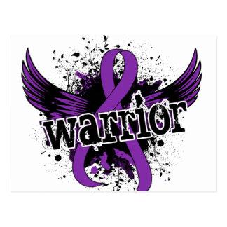 Warrior 16 Anorexia Postcard