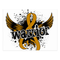 Warrior 16 Appendix Cancer Postcard